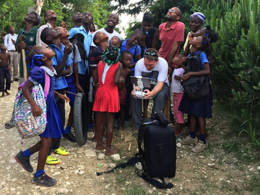 Hepburn Creative Drone Flight in Haiti