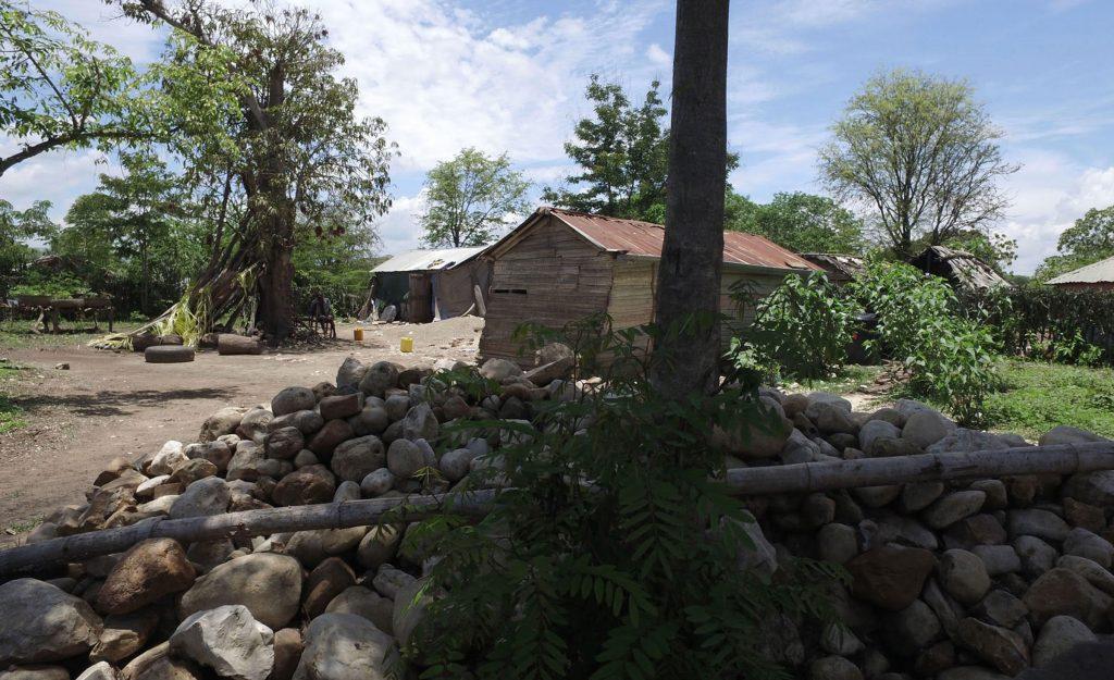 World Vision Haiti Video Production Trip - A rural Haitian home