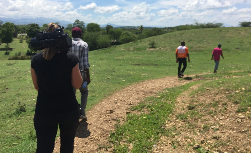 World Vision Haiti Video Production Trip - Journeying to a water source