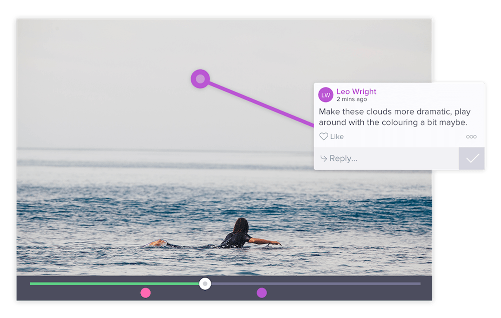 Using Wipster to provide video feedback